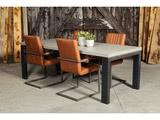 Betonnen tafel Eext met stoelen