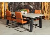 Betonnen tafel Schipborg met stoelen