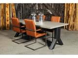Betonnen tafel Tynaarlo met stoelen