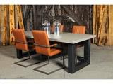 Betonnen tafel Zeegse met stoelen