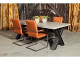 Betonnen tafel Zeijen met stoelen