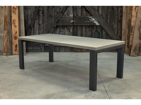 Betonnen tafel Eext productfoto