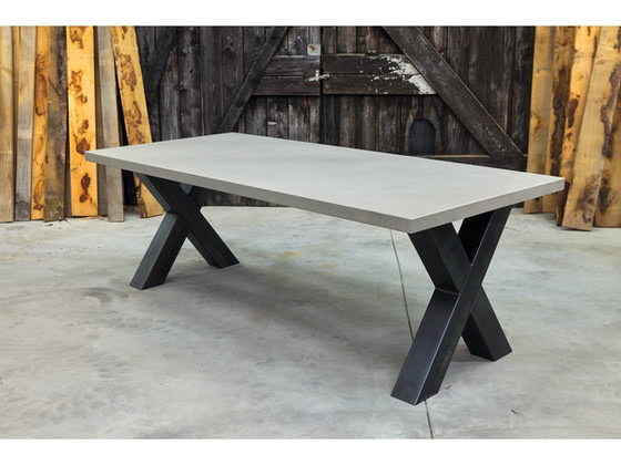 Betonnen tafel Vries productfoto