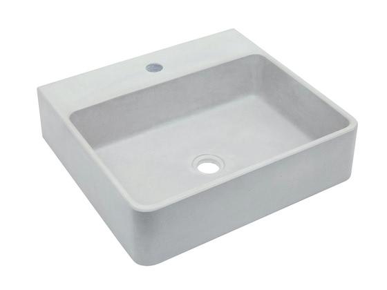 betonnen waskom Finn (kleur 2) - binnenkant