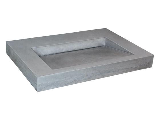 betonnen wastafel Bas805 (kleur 2) - productfoto