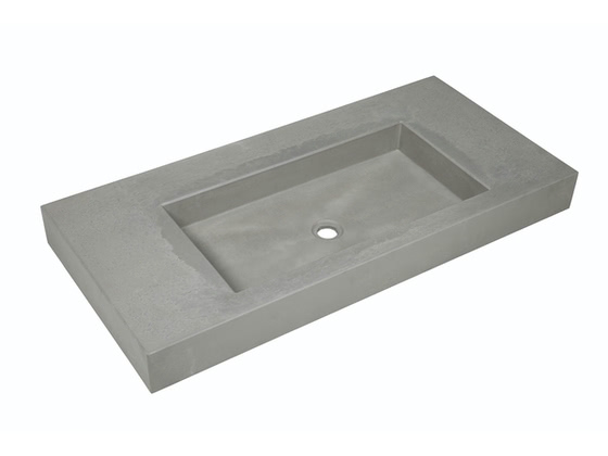 betonnen wastafel Tom1205 (kleur 2) - productfoto